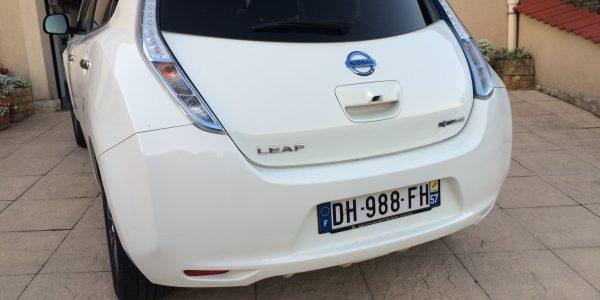 voiture   nissan leaf tekna