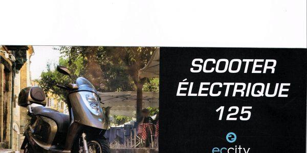 scooter scooter lectrique 125 artelec 670 bretagne. Black Bedroom Furniture Sets. Home Design Ideas